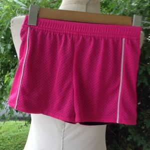Girls Puma shorts.